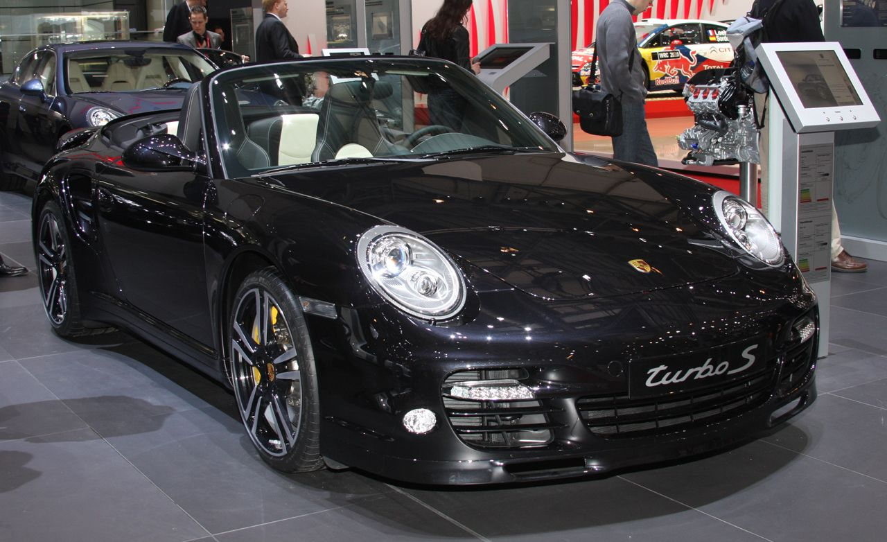 2011 Porsche 911 Turbo S Coupe and Cabriolet