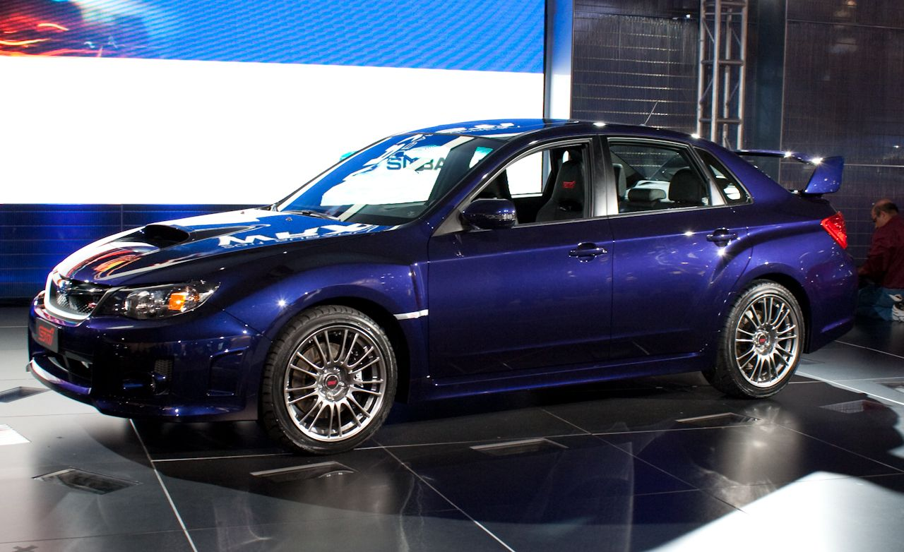 2011 subaru impreza wrx sti sedan. Black Bedroom Furniture Sets. Home Design Ideas