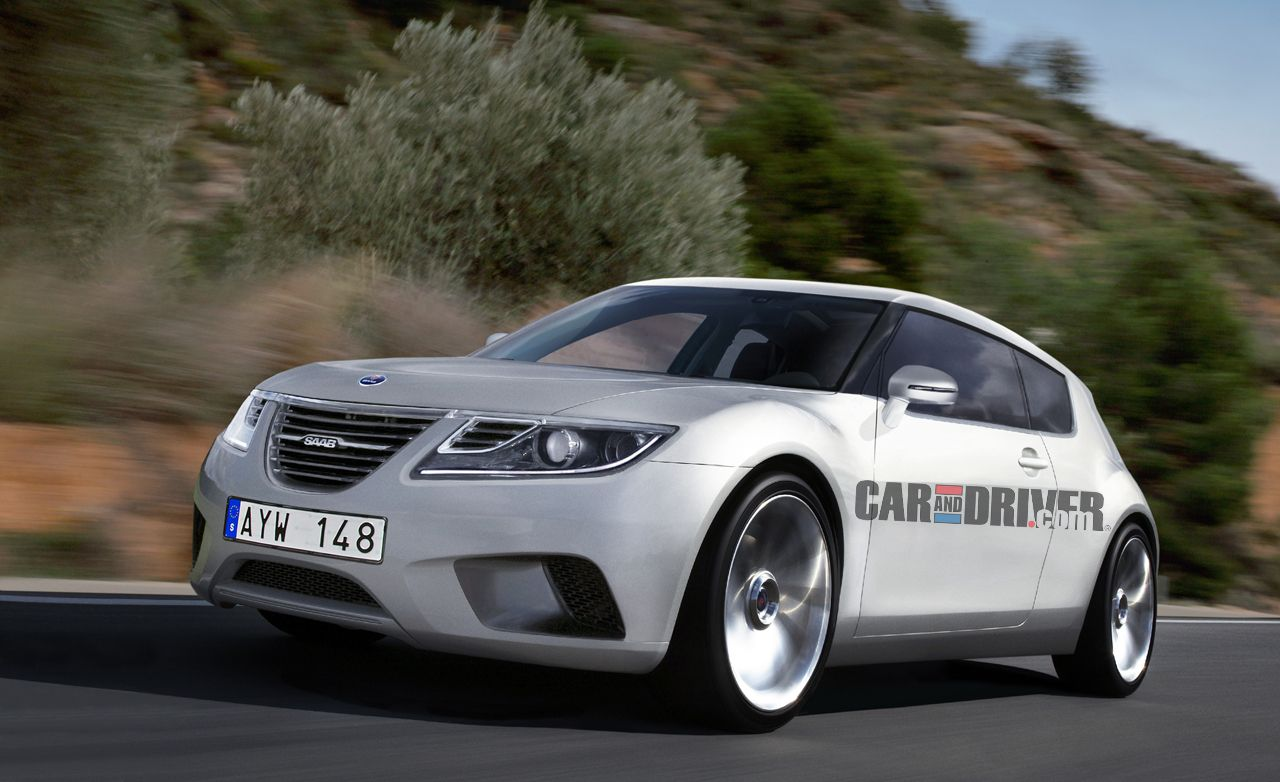 2014 Saab 9-1 Rendered