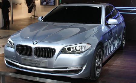 BMW 5-series ActiveHybrid Concept