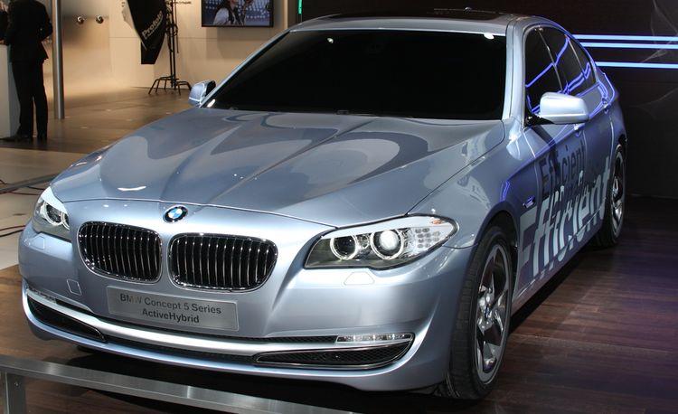 BMW 5-series ActiveHybrid Concept