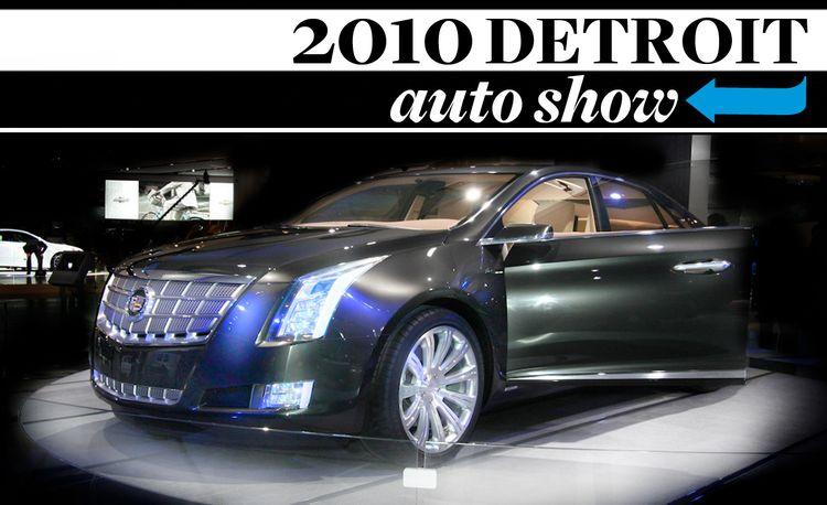 Detroit's Finest: 2010 Detroit Auto Show Videos
