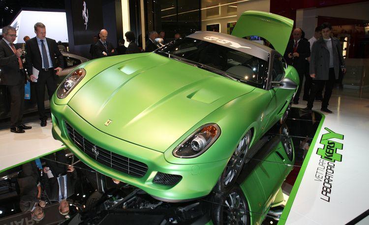 Ferrari 599GTB HY-KERS Hybrid Concept
