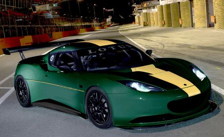 Lotus Evora Cup Race Car