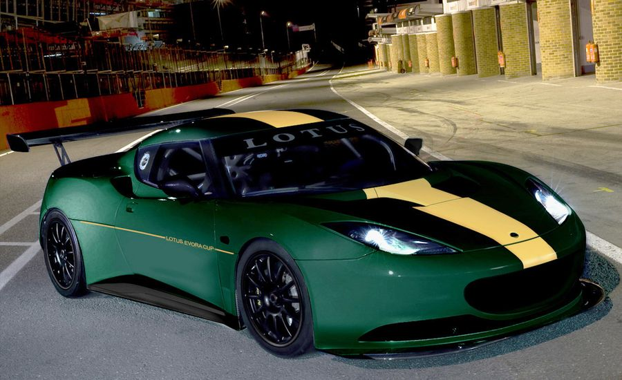 Lotus Evora Cup Race Car | Car News | News | Car and Driver