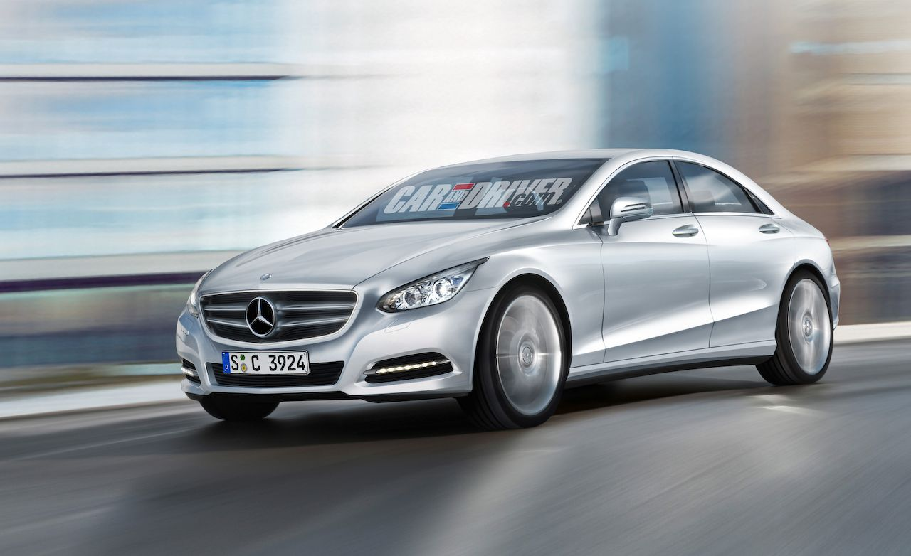 The Shape of the Next Mercedes-Benz C-class and E-class