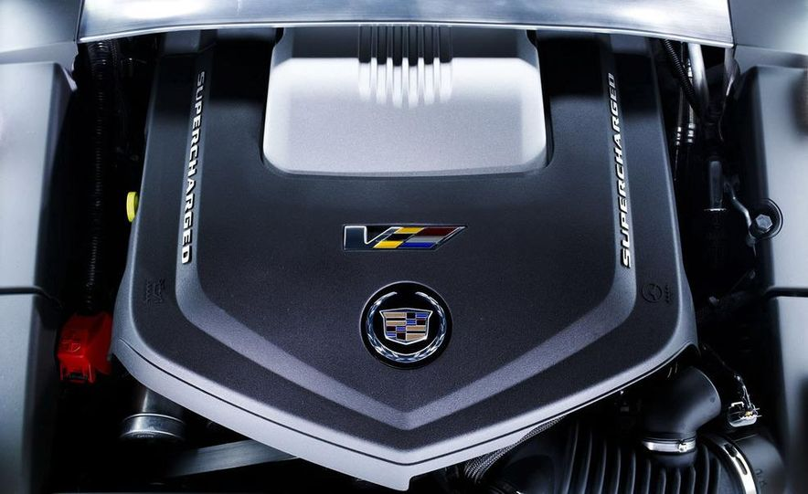 2011 Cadillac CTS-V coupe - Slide 61