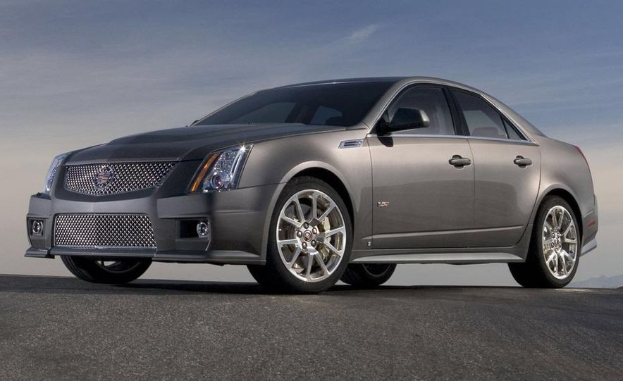 2011 Cadillac CTS-V coupe - Slide 45