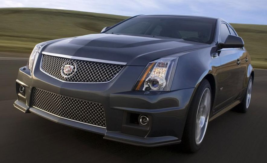 2011 Cadillac CTS-V coupe - Slide 49