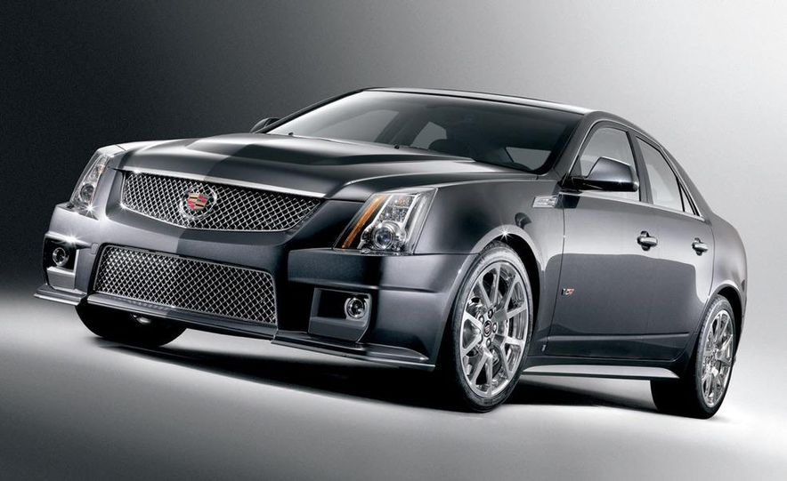2011 Cadillac CTS-V coupe - Slide 52