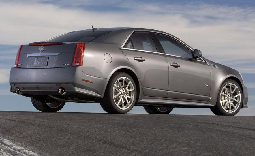 2011 Cadillac CTS-V coupe - Slide 53
