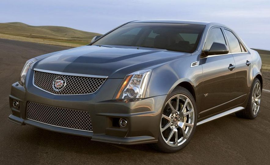 2011 Cadillac CTS-V coupe - Slide 56