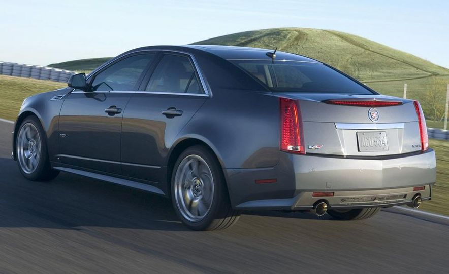 2011 Cadillac CTS-V coupe - Slide 57
