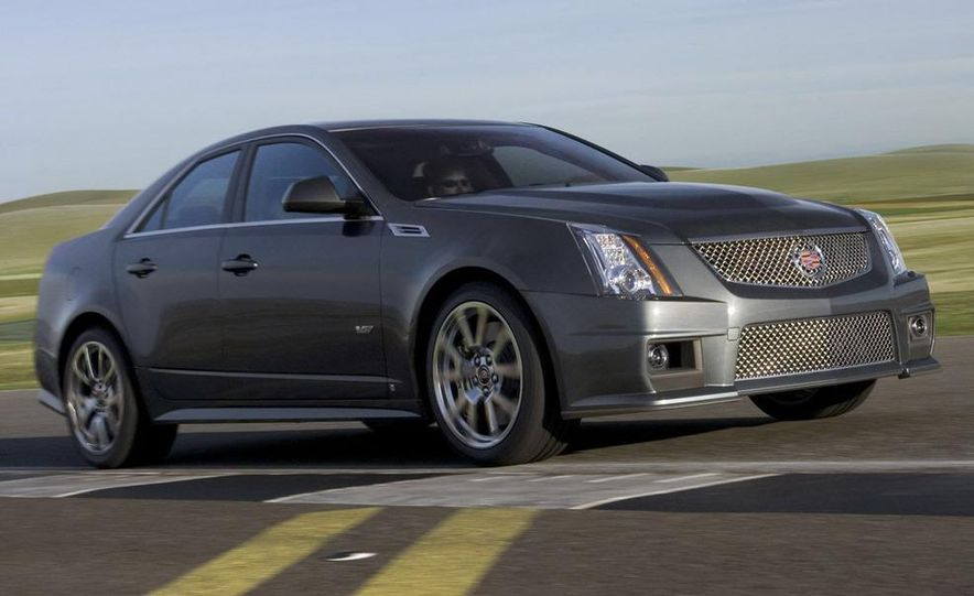 2011 Cadillac CTS-V coupe - Slide 58