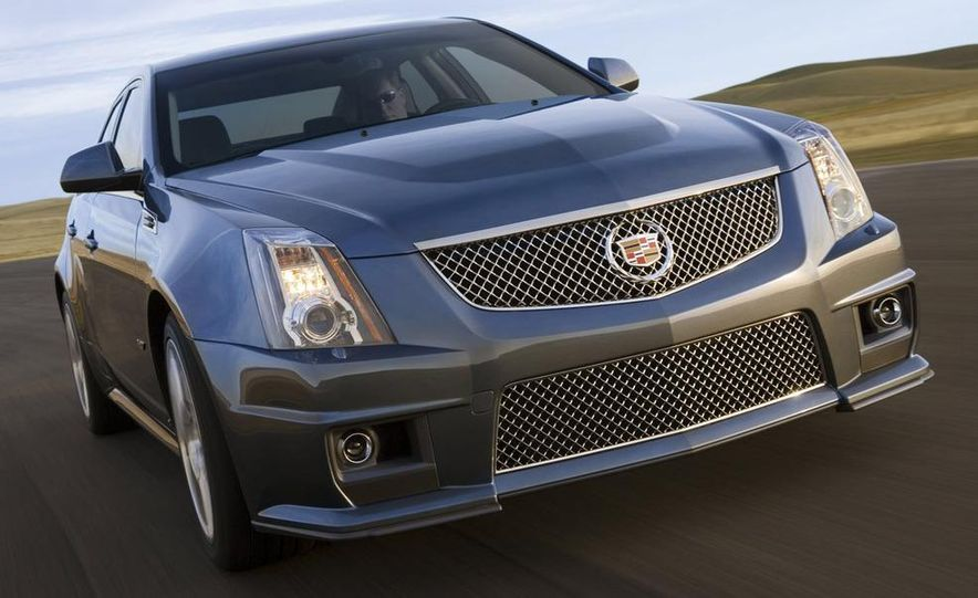 2011 Cadillac CTS-V coupe - Slide 59