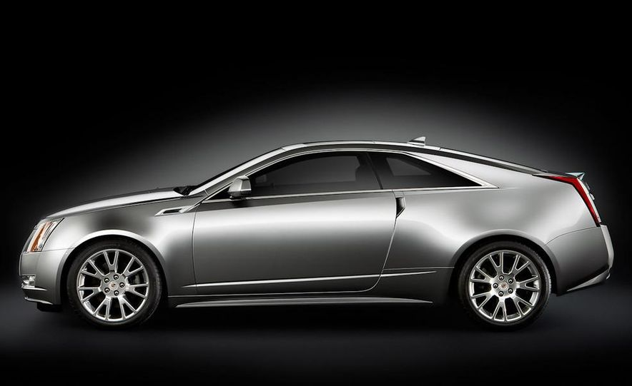 2011 Cadillac CTS-V coupe - Slide 27