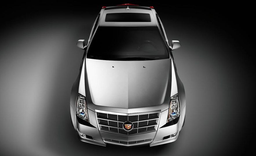 2011 Cadillac CTS-V coupe - Slide 31