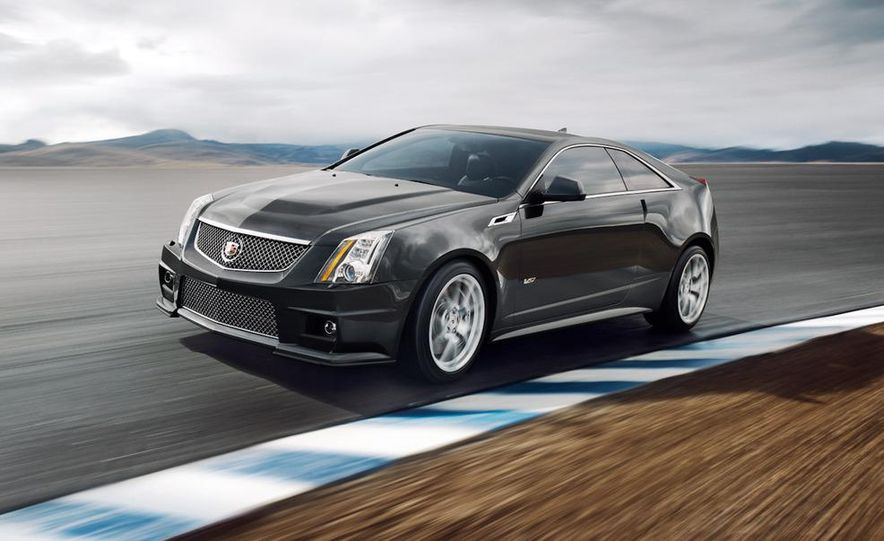 2011 Cadillac CTS-V coupe - Slide 19