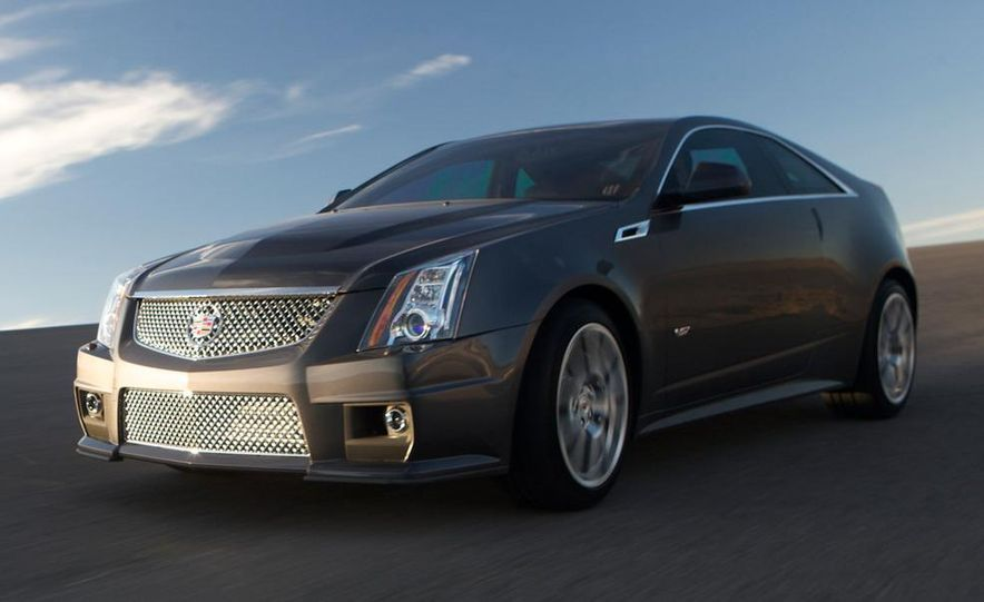 2011 Cadillac CTS-V coupe - Slide 21