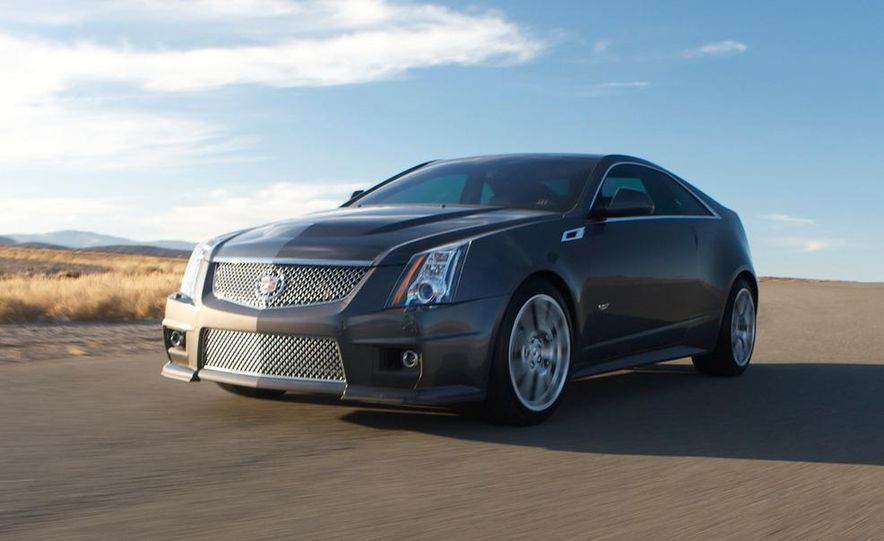 2011 Cadillac CTS-V coupe - Slide 24