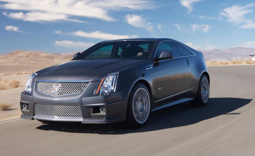 2011 Cadillac CTS-V coupe - Slide 26