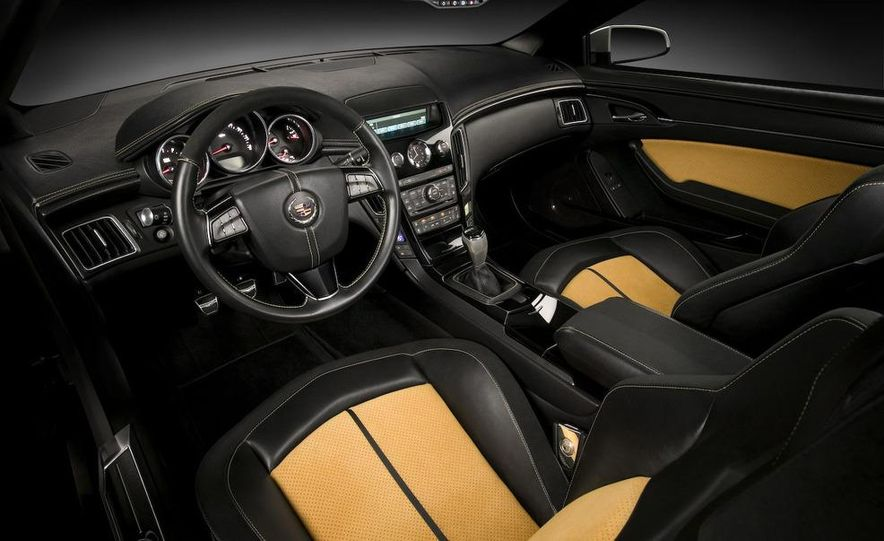 2011 Cadillac CTS-V coupe - Slide 43