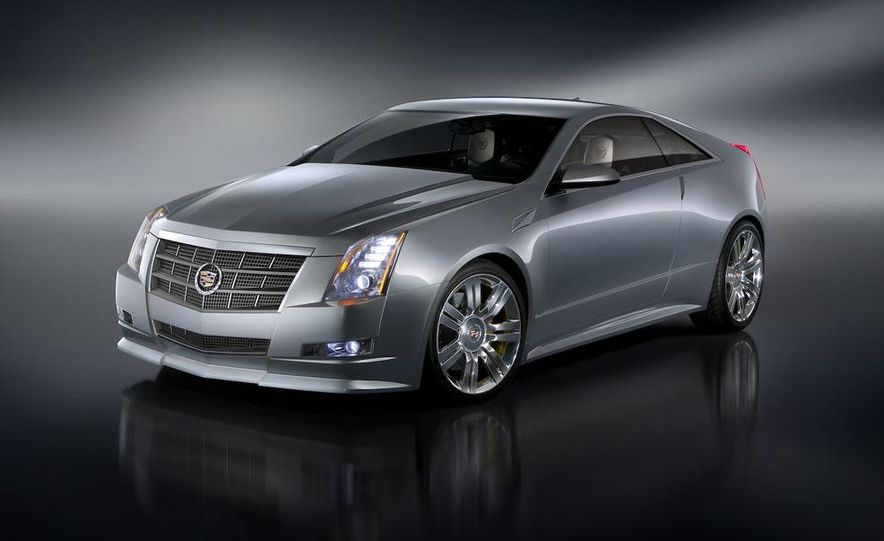 2011 Cadillac CTS-V coupe - Slide 36