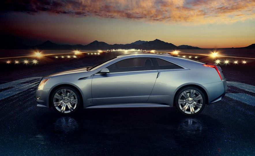 2011 Cadillac CTS-V coupe - Slide 37