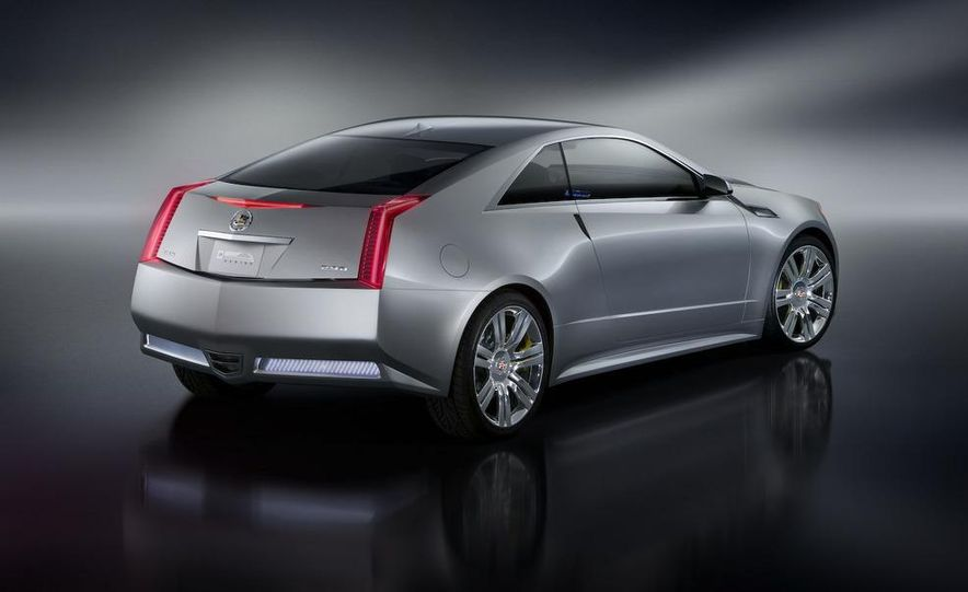 2011 Cadillac CTS-V coupe - Slide 39