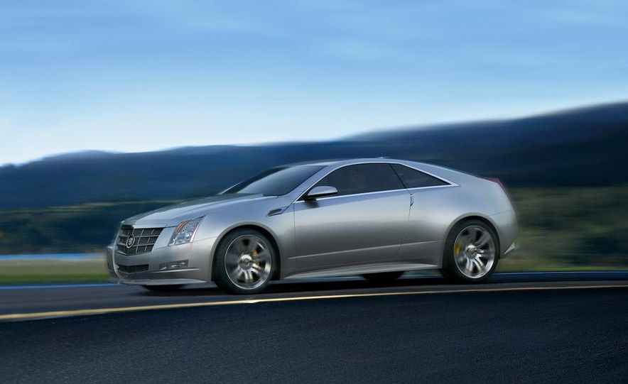 2011 Cadillac CTS-V coupe - Slide 40