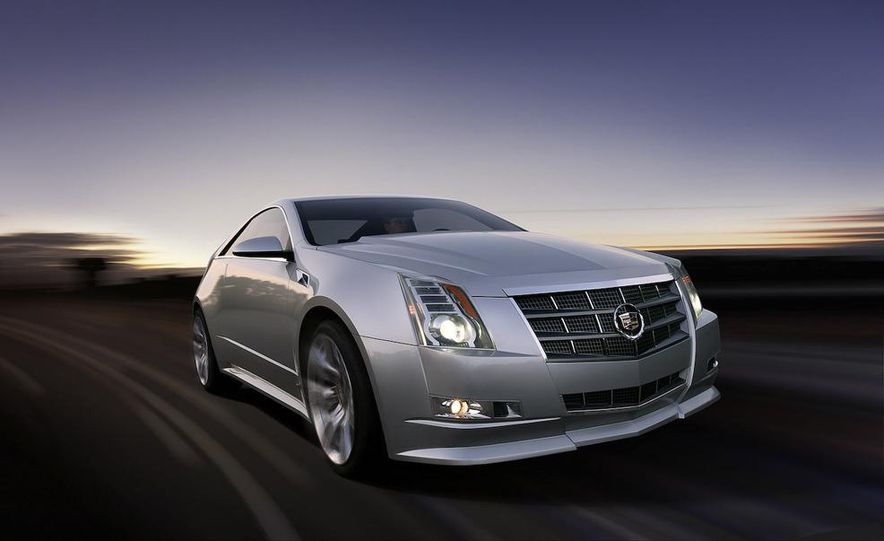 2011 Cadillac CTS-V coupe - Slide 42