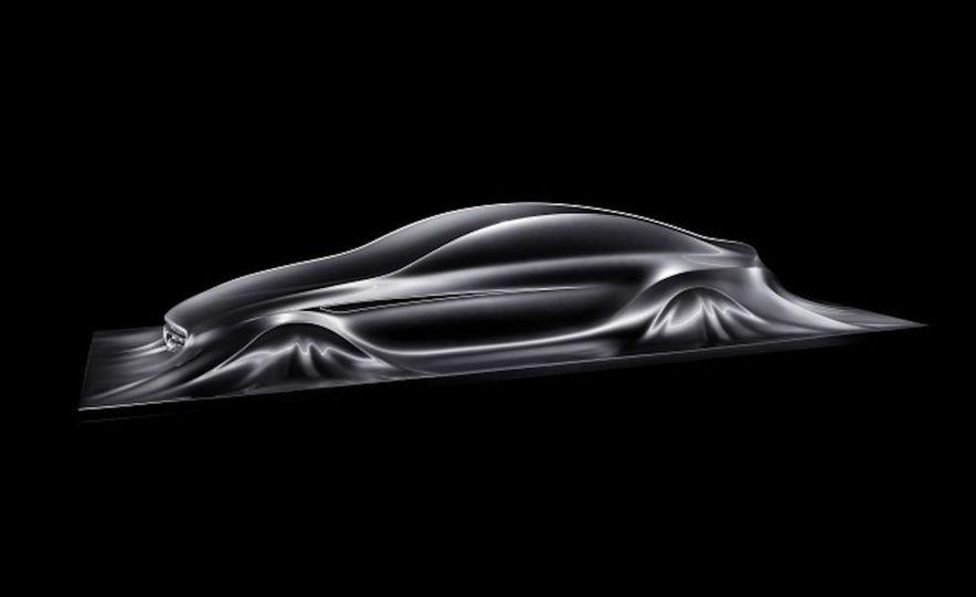 2011 Mercedes-Benz CLS Concept Sculpture - Slide 10