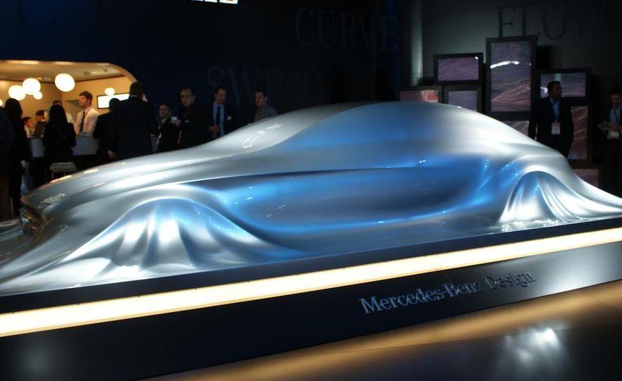 2011 Mercedes-Benz CLS Concept Sculpture - Slide 6