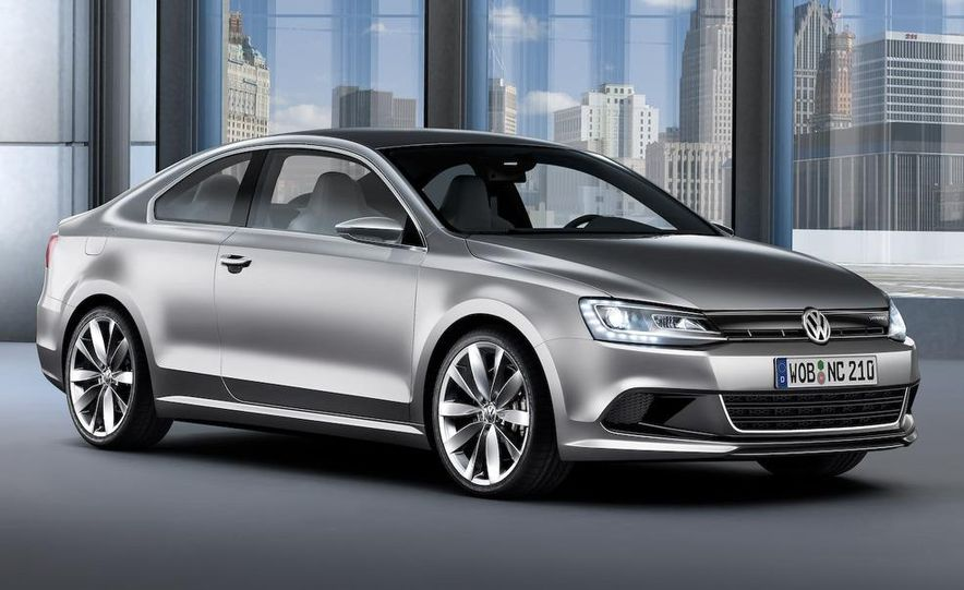 Volkswagen New Compact Coupe Concept - Slide 13
