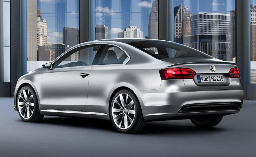 Volkswagen New Compact Coupe Concept - Slide 14