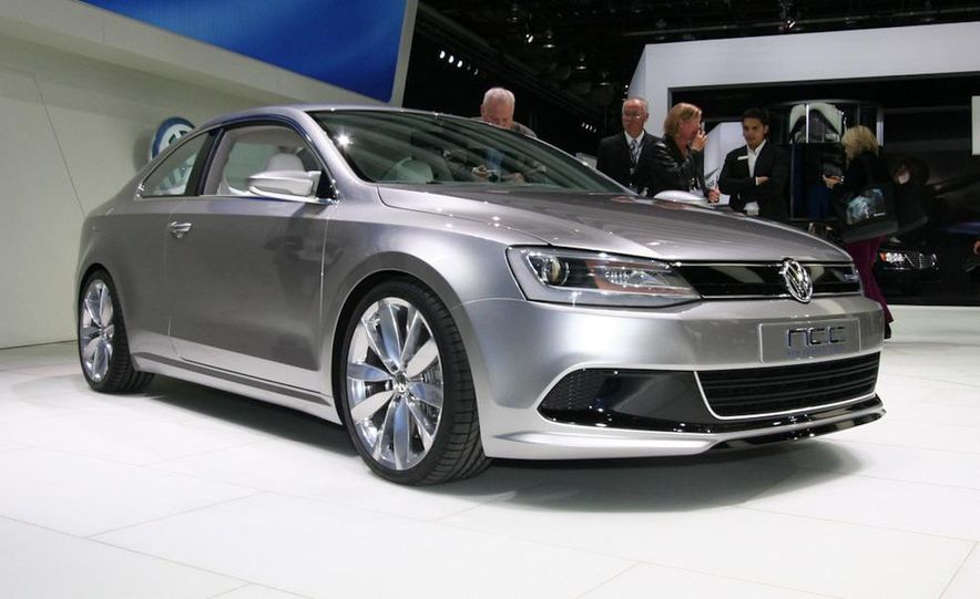 Volkswagen New Compact Coupe Concept - Slide 2