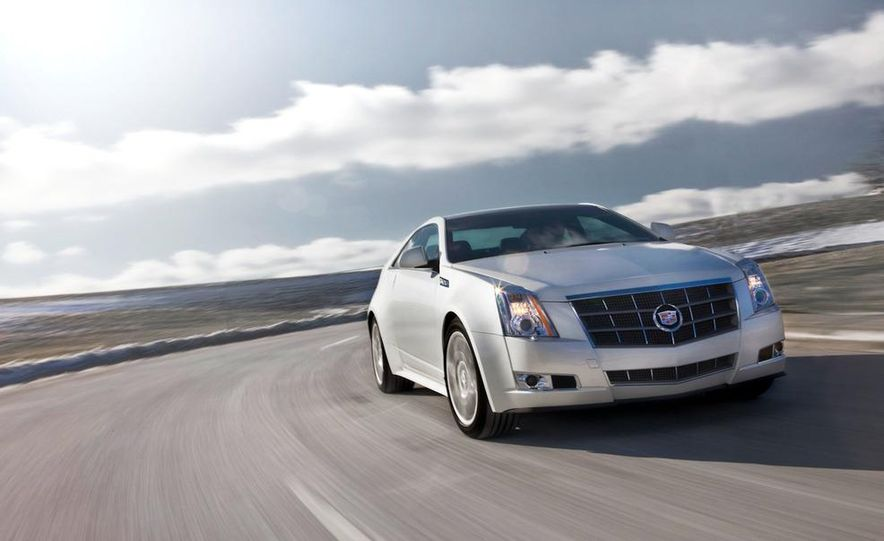 2011 Cadillac CTS coupe - Slide 1