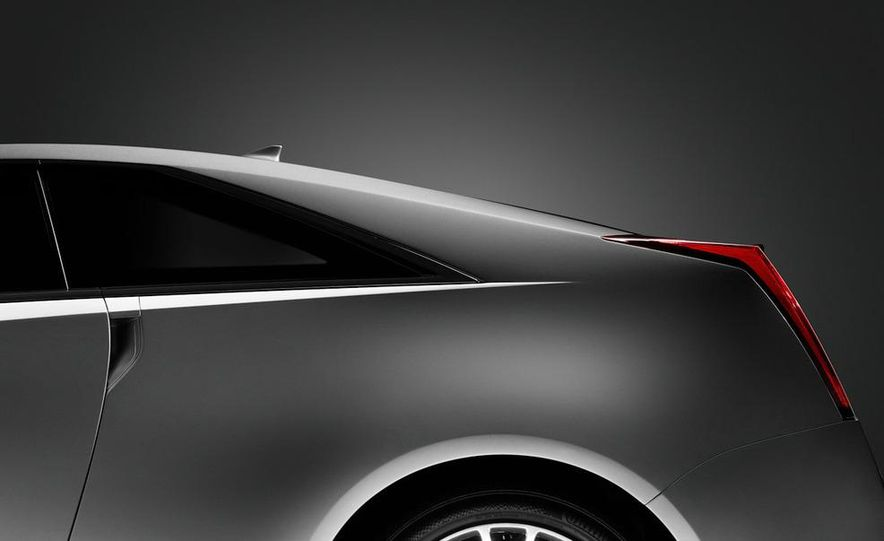 2011 Cadillac CTS coupe - Slide 44
