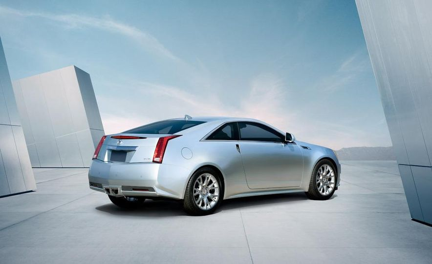 2011 Cadillac CTS coupe - Slide 49