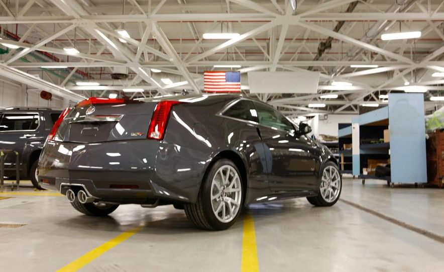 2011 Cadillac CTS coupe - Slide 13