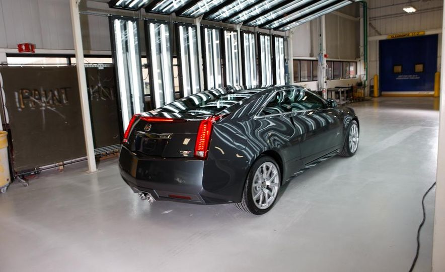 2011 Cadillac CTS coupe - Slide 20