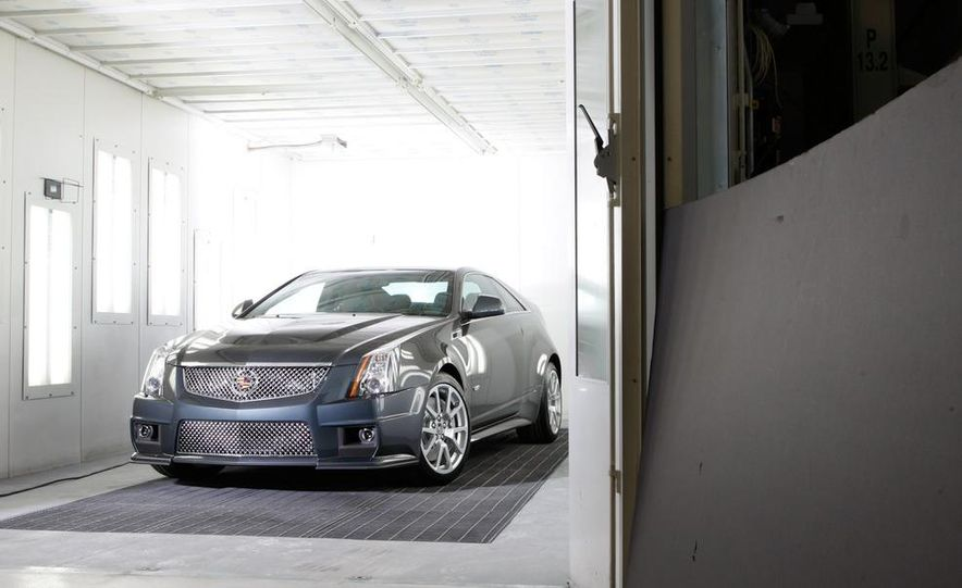 2011 Cadillac CTS coupe - Slide 22