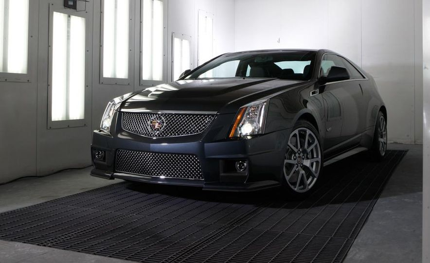 2011 Cadillac CTS coupe - Slide 23