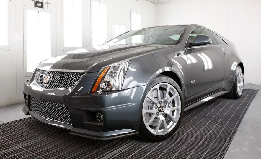 2011 Cadillac CTS coupe - Slide 39