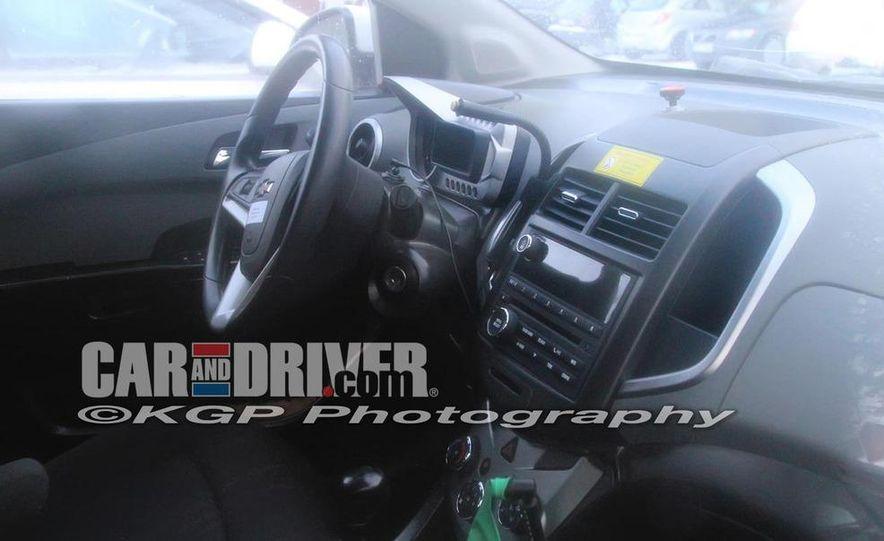 2011 Chevrolet Aveo (spy photo) - Slide 6