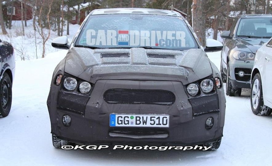 2011 Chevrolet Aveo (spy photo) - Slide 2