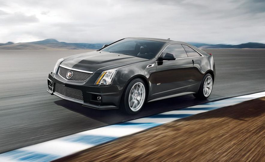 2011 Cadillac CTS-V coupe - Slide 3