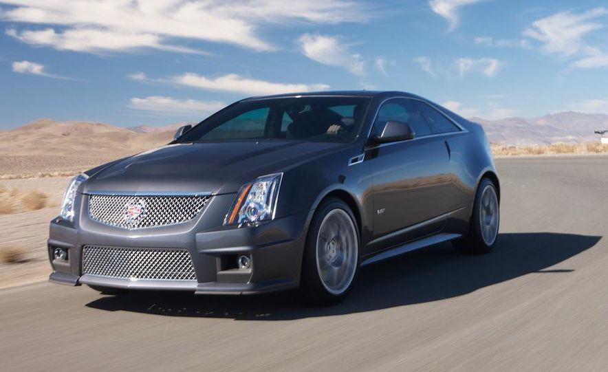 2011 Cadillac CTS-V coupe - Slide 2