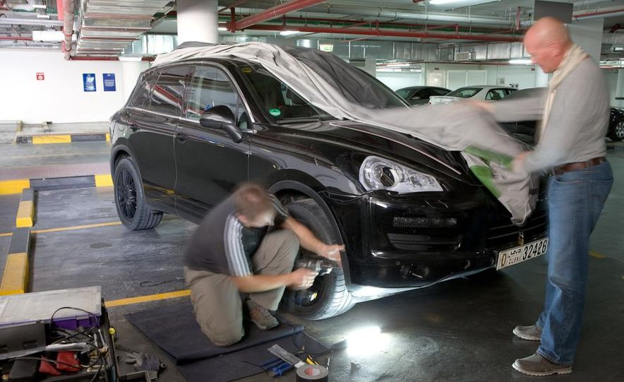 2011 Porsche Cayenne prototype - Slide 50