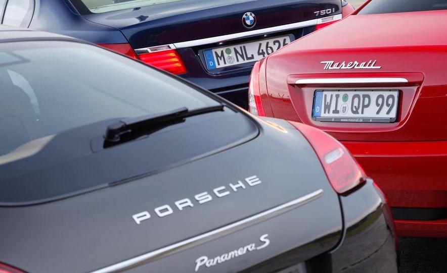2009 BMW 750i (European spec) - Slide 61